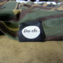 custom damask label woven clothing hem tags