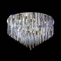 low voltage suspension crystal Ceiling Lighting for interior design solution
