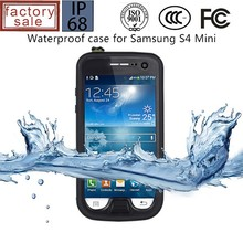 Heavy Duty Smartphone Case for Samsung Galaxy S4, Waterproof Case for Samsung Galaxy S4 Mini