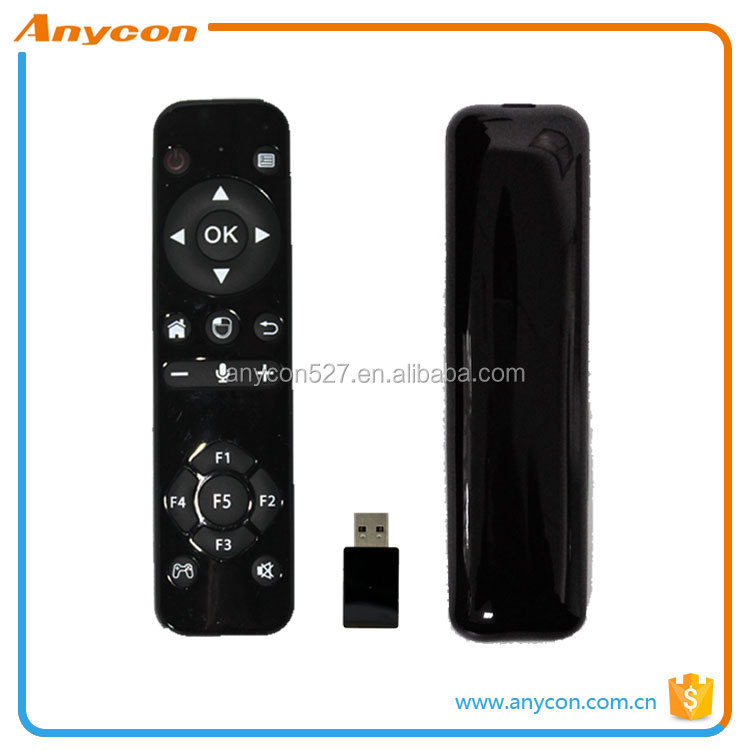 2017 High Quality 2.4G IR TV remote control with bluetooth air flying mouse