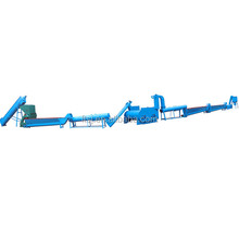Waste Plastic Pe Pp Film Washing Line/recycling Machinery