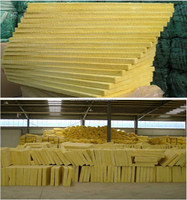 non combustible material and water resistance glass wool used for commercial and resisidantial building