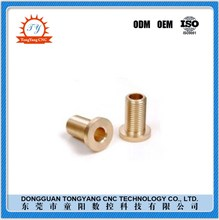 China supply high precision cnc machining brass moto auto spare parts
