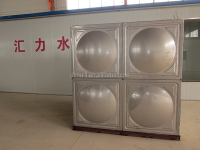 stainless steel water tank /foldable fish farming storage tanks