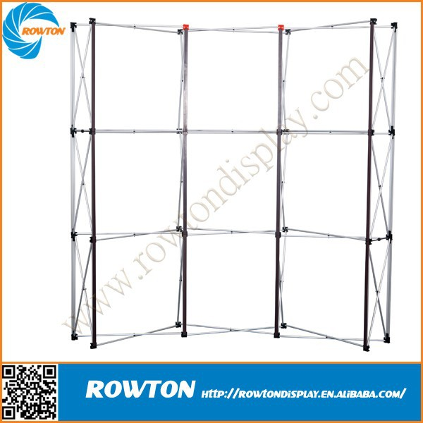 Trade show backdrop booth aluminum material exhibition pop up display