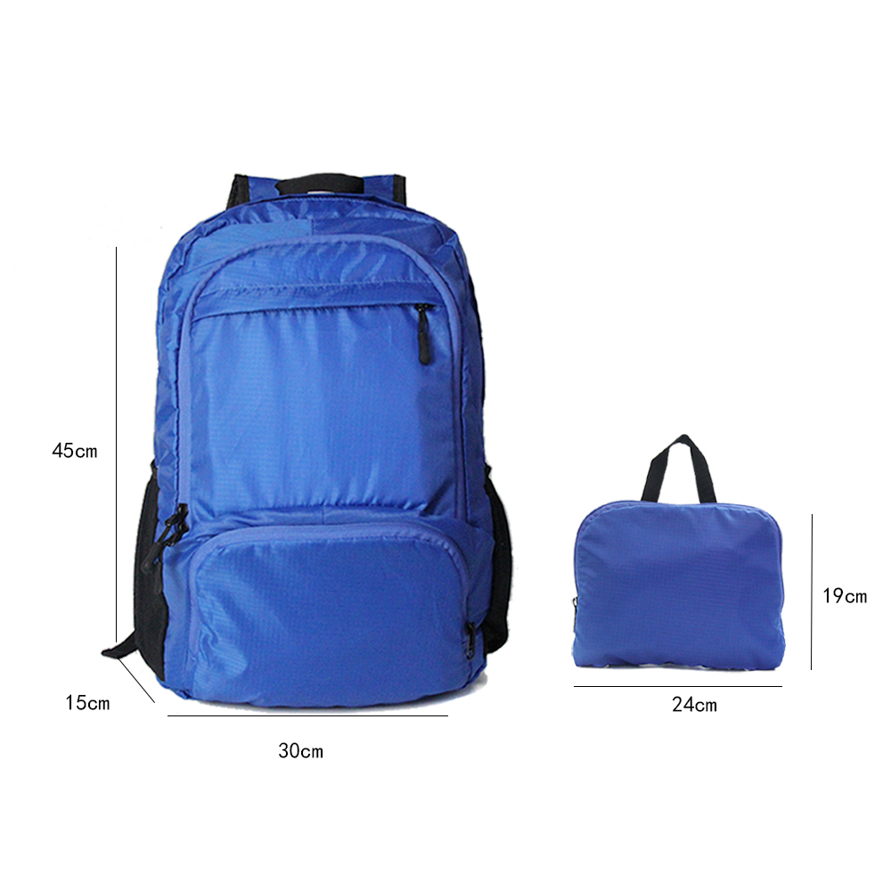<strong>Backpack</strong>, 20L Ultralight Travel Bagpack packable Foldable Waterproof Polyester <strong>Backpack</strong> For Traveling