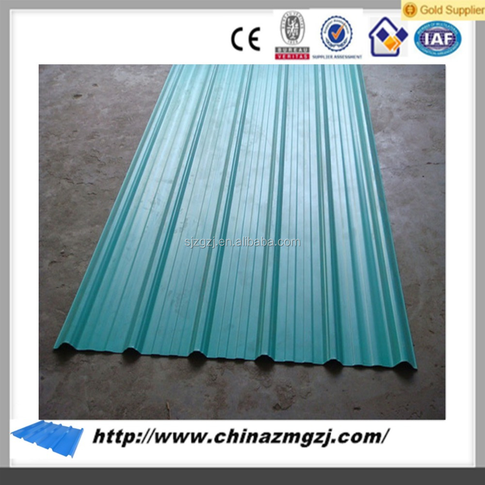 China competitive price sheet roofing shingle materials galvanized corrugated metal roofing sheet for sheds