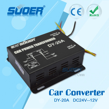 Suoer High Quality DC 24V to DC 12V Converter 10A Voltage Transformer