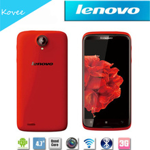 "4.7"" Lenovo S820 Android 4.2 OS MTK6589 Quad core phone Dual sim WIFI GPS Russian 1.2GHz 1G/4G hot sale cute mobile phone"