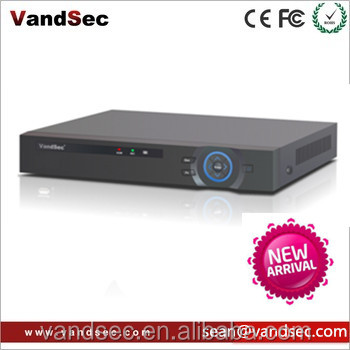 Vandsec New Arrival H.265 4K NVR App xmeye For P2P Wifi ONVIF IP camera 4CH 4K NVR