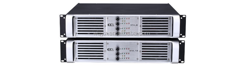 DT4.5 4channles 500w 8ohm Cpower mixer amplifier