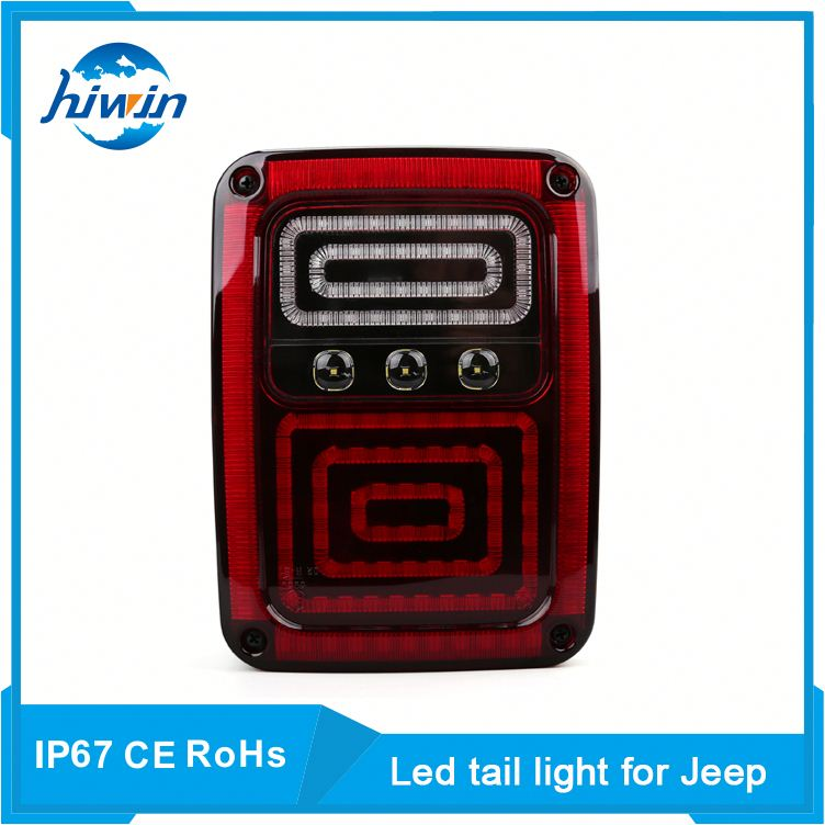 high performance ip67 waterproof led tail light for 2007-2015 jeep wrangler 2002 jeep grand cherokee tail light assembly