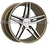 alloy rims after market made in concave 5 spoke 15 17 inch light weight mag wheel