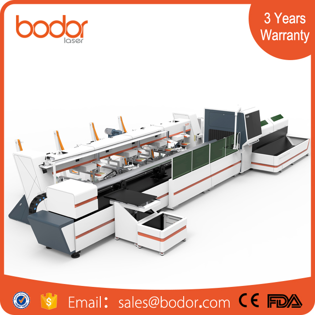 CNC Laser pipe tube laser Cutting Machine Price/metal pipe and tube cutting machine/fiber pipe cutting machine