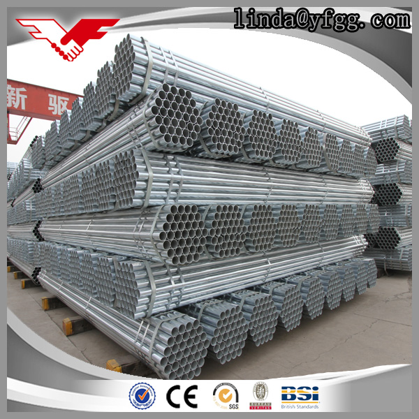 Prime new Low cost BS1387 Class B Galvanized Carbon Steel Pipe