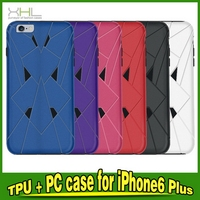 Customized most popular waterproof for iphone 6 tpu pc case