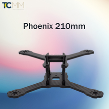 "TA017-Phoenix Full Carbon Fiber 4mm 5"" 210mm DIY Mini Drone Cross Racing frame kit"