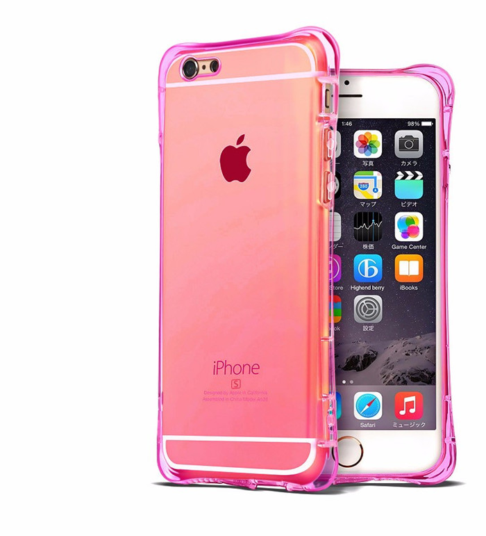 Ultra Hybrid Hot Selling Thin Soft TPU Air Cushion Corner Crystal Clear Anti-drop Shockproof Cases for Apple iPhone 6S