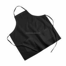 Fashion Washable embroidery barista cotton apron