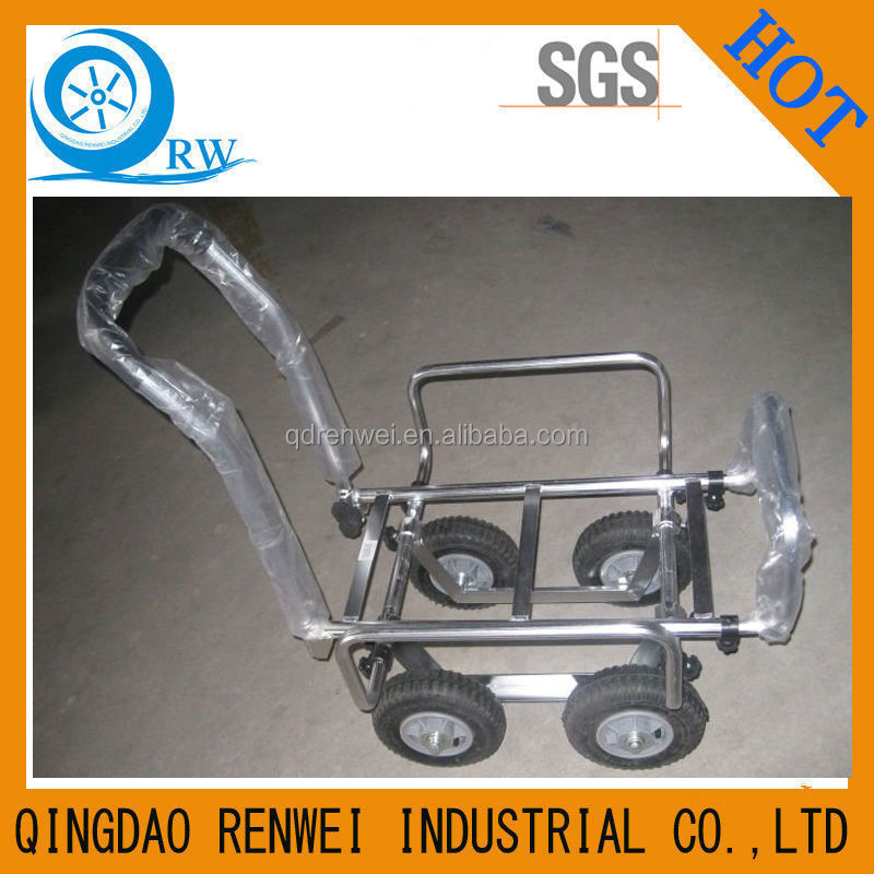 light weight aluminum shopping tool cart