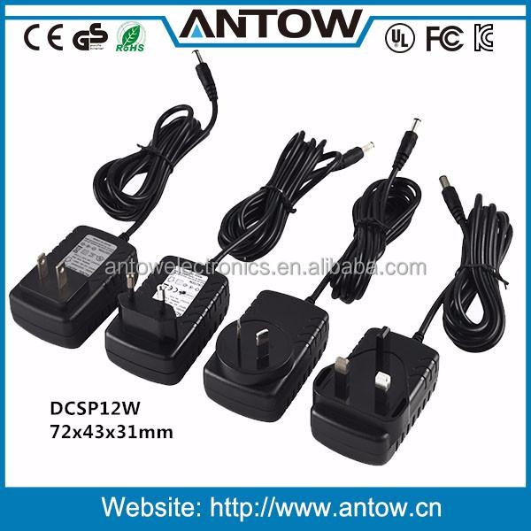 Customize DC cable and DC plug 7V power adapter ac dc adapter
