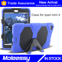 Cheap new model wholesale cases for ipad mini4 7.9'' with kickstand
