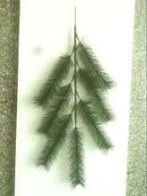artificial cedar tree 1m long plastic plant 7 branches 7 heads pine glitter leaf ESSZ11 19T01