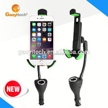 Usb Car Charger For Iphone 5 car charger holder for iphone5C (HC44K)