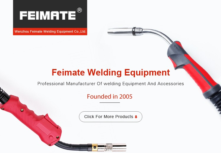 FEIMATE China Manufacturer Supplier 500A Portable gas Co2 Welding Torch / MIG Gas Torch