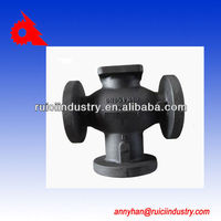 ball valve body heat resistant ggg40 cast iron