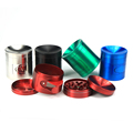 JL-143JA Zinc Storage Storage Herb Grinder with Pollen Catcher