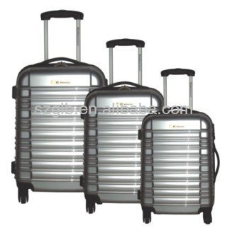 Aluminum ABS+PC Metal Trolley Case 2014 Unique Makeup Professional Luggage