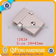 Newest 34*43mm luggage parts smooth bag hardware twist lock 1263#