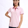 Stock Apparel Ladies Cheap Polo T