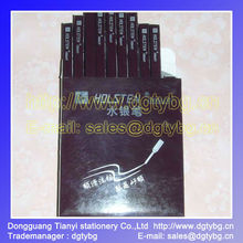 the write dudes pens,leather marker,HOLSTEN GERMANY Metal pipe for leather marking Silver refill pen