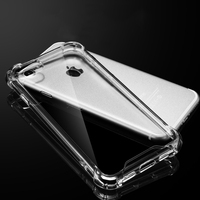 New Hard PC Plastic Transparent Clear Design Soft TPU shockproof Mobile Phone Cases For iphone 7
