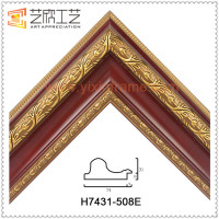 European Style Antique Transparent Clear Glass Picture Frame Molding Wholesale Glass Picture Frames
