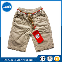Cargo Pants Mens Plain khaki Trousers 98%cotton 2% spandex custom made in China