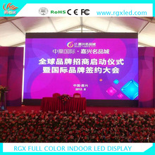 Shenzhen RGX transparent led curtain display led pole signs china rental indoor led display p3 p4 P5 p6