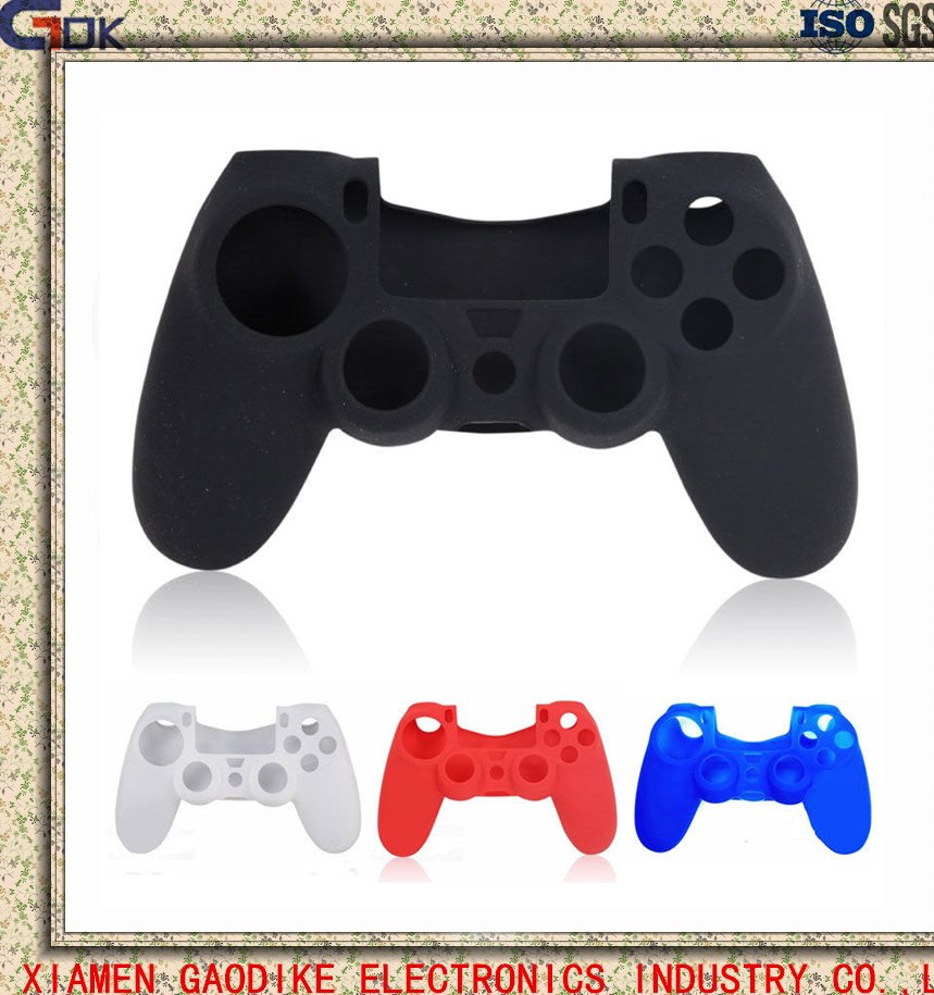 Silicone Case Protective Cover Skin for Playstation 4 Controller