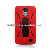 phone case for samsung galaxy s2 skyrocket i727,robot case with kickstand for samsung
