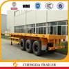 3 axle 40ft container trailer small truck trailer