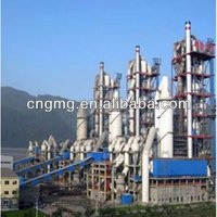cement manufacturing process flow chart for 2500tpd cement plant