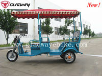 STRONG ELECTRIC TRICYCLE,ELECTRIC PEDICAB,TUKTUK,BATTERY OPERATED ELECTRIC RICKSHAW FOR PASSENGER