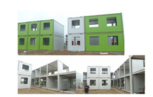 prefabricated housing modules affordable modular homes Foldable Container House