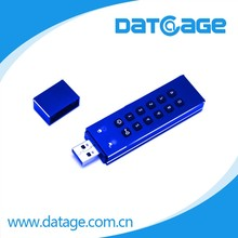 Datage Best True AES 256bit Hardware Encrypted/Decrypted Code USB3.0 Drive