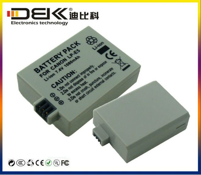 Digital Camera Battery Pack for Canon LP-E5