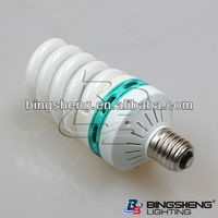 wholesale high power full spiral 14 tube dia energy saver E27/B22 220-240V 45W cheap price