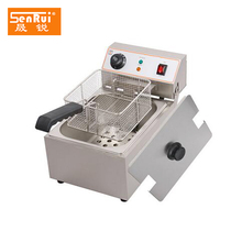 Counter top Chicken wings fryer Stainless Steel Commercial Electric Deep Fryer machine