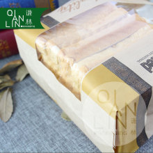 OEM High Quality Enviromental Clear Window Bread Toast Paper Bags